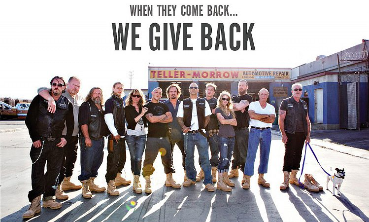 Sons of Anarchy Prize Giveaway for The Boot Campaign – Enter to win!