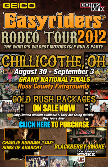 Charlie To Be at Easyriders Rodeo in Chillicothe, Ohio