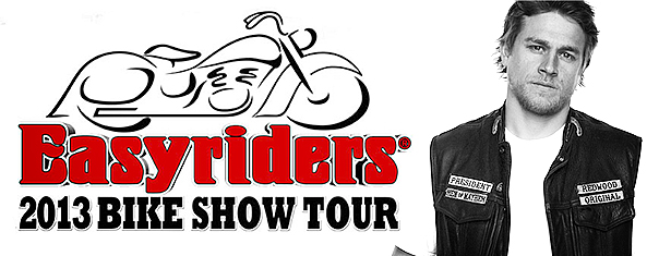 Charlie Scheduled to Appear at the EasyRiders Bike Show Tour 2013!