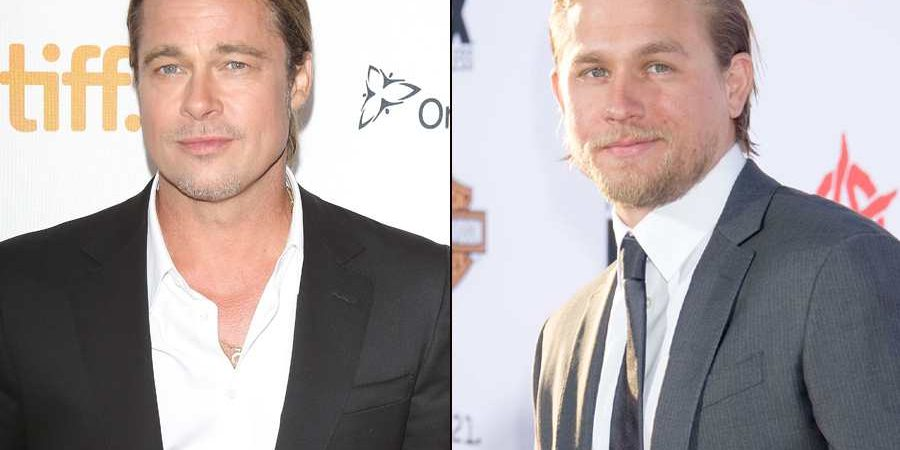Brad Pitt Approves Of Charlie Hunnam As Christian Grey: 'He's A Good Egg!'