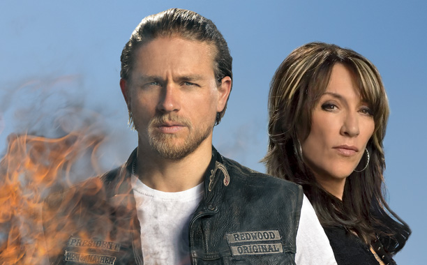 Entertainment Weekly Goes On the set & Behind the Scenes of Sons of Anarchy's Final Ride with latest issue