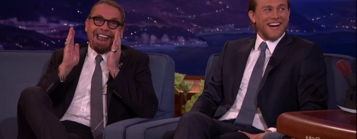 Charlie and the Cast of Sons of Anarchy Visit CONAN!