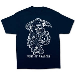 Sons of Anarchy Navy Reaper T-Shirt