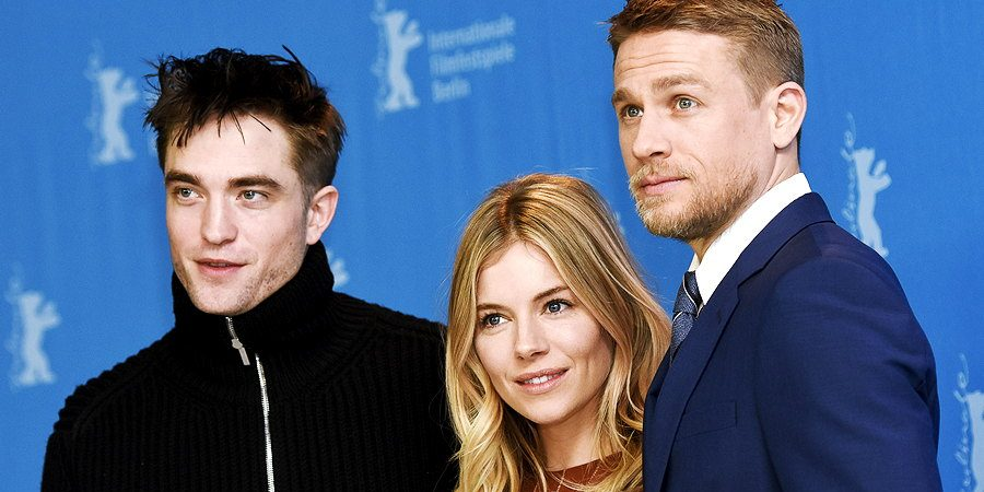 Charlie Attends 'Lost City of Z' Photocall & Press Conference at the 67th International Berlin Film Festival