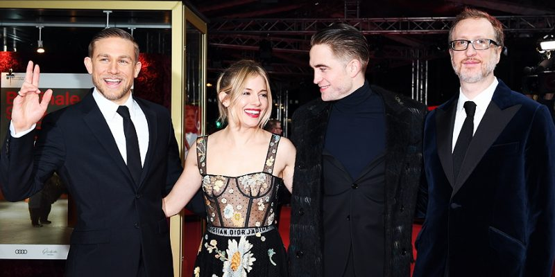 Charlie Attends 'Lost City of Z' Premiere at the 67th International Berlin Film Festival