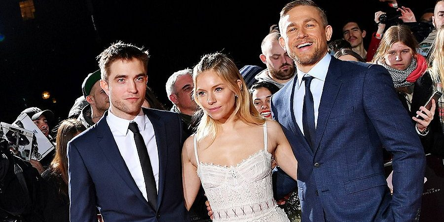 Charlie Attends European Premiere of 'Lost City of Z'