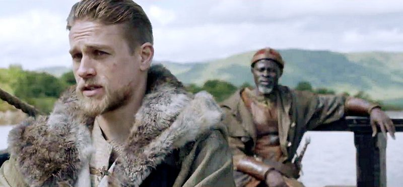 Charlie Hunnam & Djimon Hounsou on 'King Arthur's Epic Action and Guy Ritchie's Directorial Idiosyncrasies