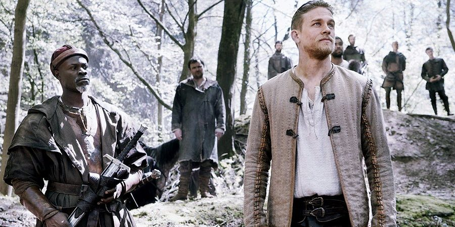 New Production Stills from 'King Arthur: Legend of the Sword'