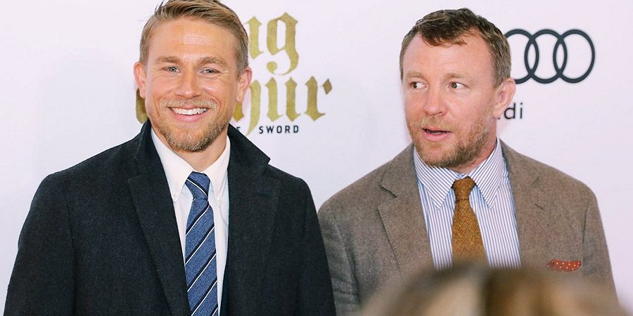 Charlie Attends Canadian Screening of 'King Arthur: Legend of the Sword'