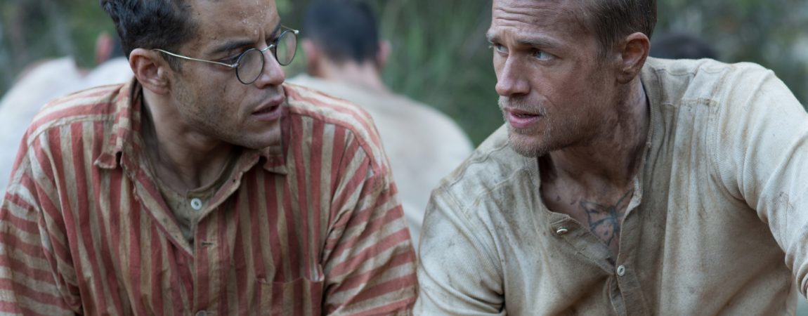 Official 'Papillon' Trailer, Production Stills and Promotional Artwork