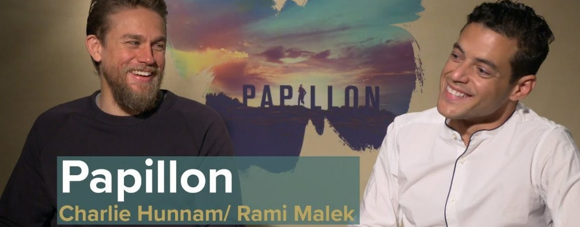 Video: 'Papillon' Press Interviews Collection