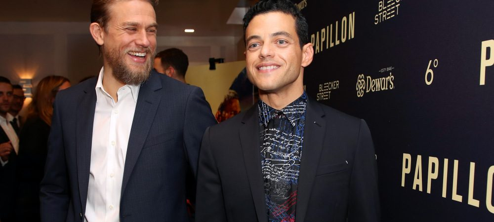 "Charlie Hunnam and Rami Malek's 'Papillon' Is ""Somewhat of a Love Story"""