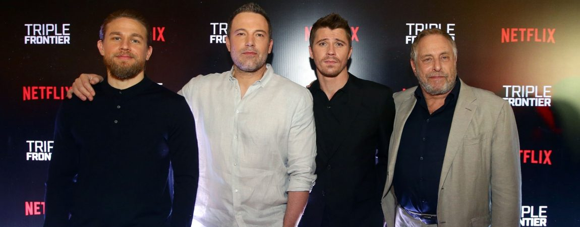 Photos: 'Triple Frontier' Singapore Fan Event & Press Conference