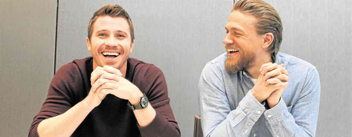Seeing double: Charlie Hunnam and Garrett Hedlund