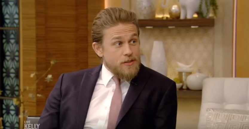 Video: Charlie Drops by 'Live with Kelly and Ryan' to talk 'Triple Frontier'