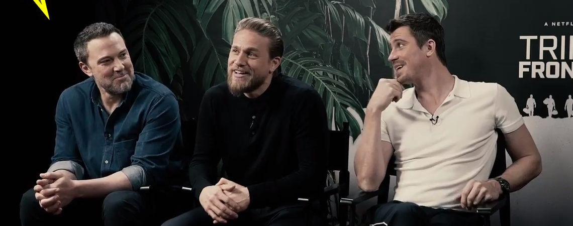 Video: Charlie Hunnam and 'Triple Frontier' cast chat with The Quint