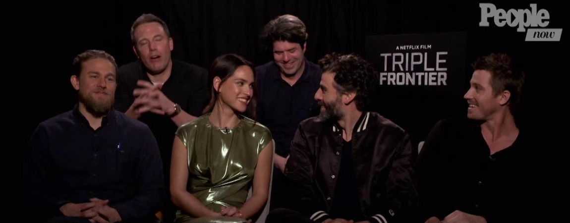 "Video: The Stars of 'Triple Frontier' Accept the ""Sexiest Cast Alive"" Title"